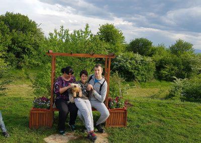 Започнаха да ни посещават и семейства с... куче!